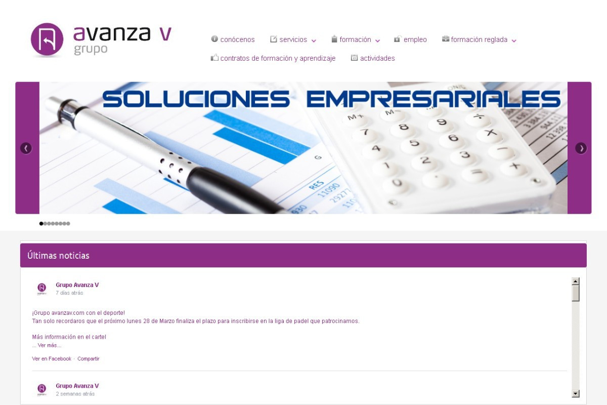 avanzav.com – captura web 01