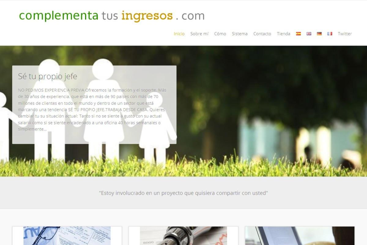 complementatusingresos.es – captura web 01
