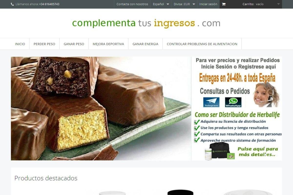 complementatusingresos.es – captura web 02