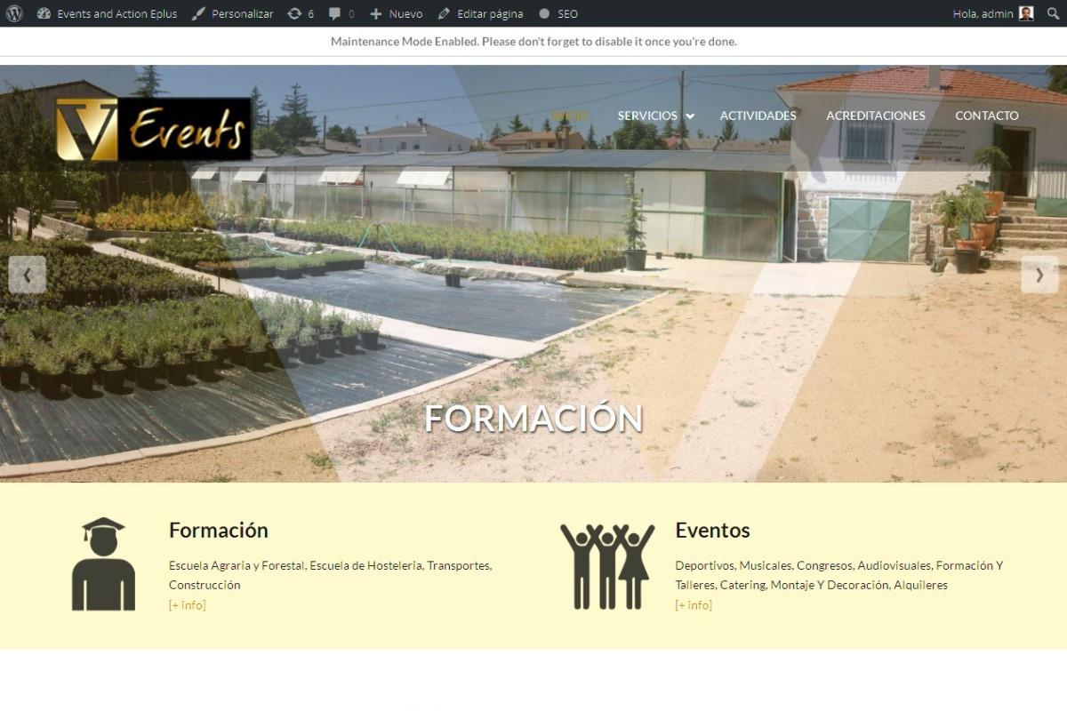 eventosaccion.es – captura web 01