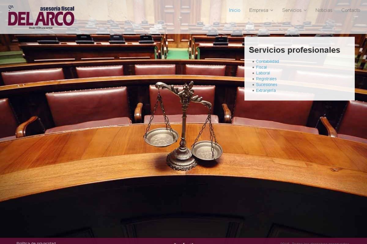 gestoriadelarco.es – captura web 01