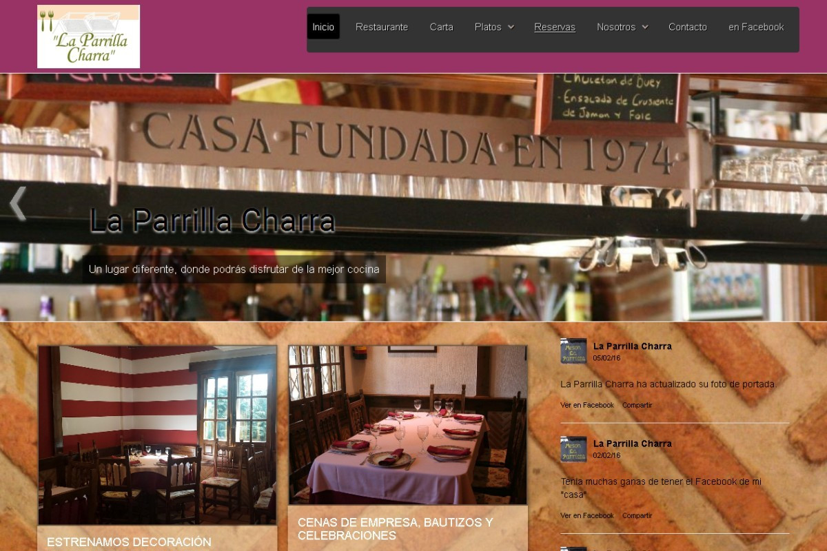 laparrillacharra.es – captura web 01