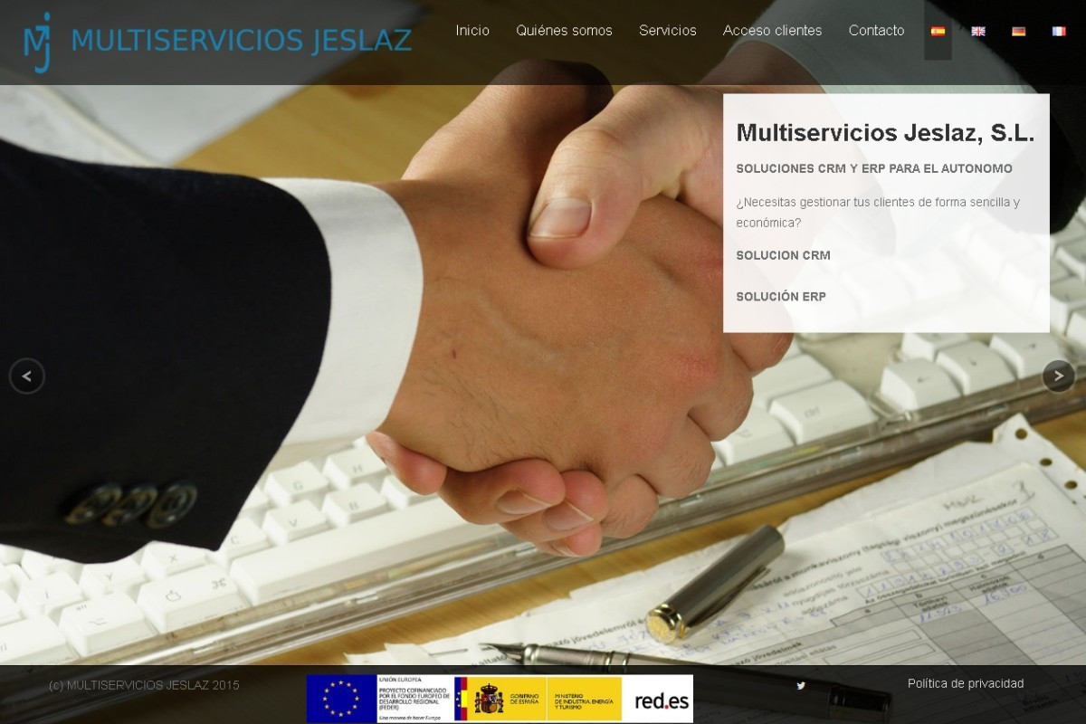 multiserviciosjeslaz.es – captura web 01